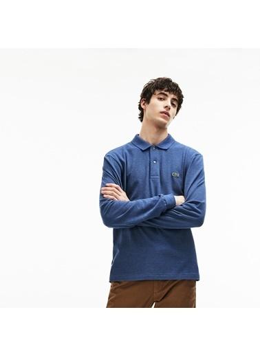 Lacoste Erkek Klasik Fit Sweatshirt L1313.RUQ Lacivert